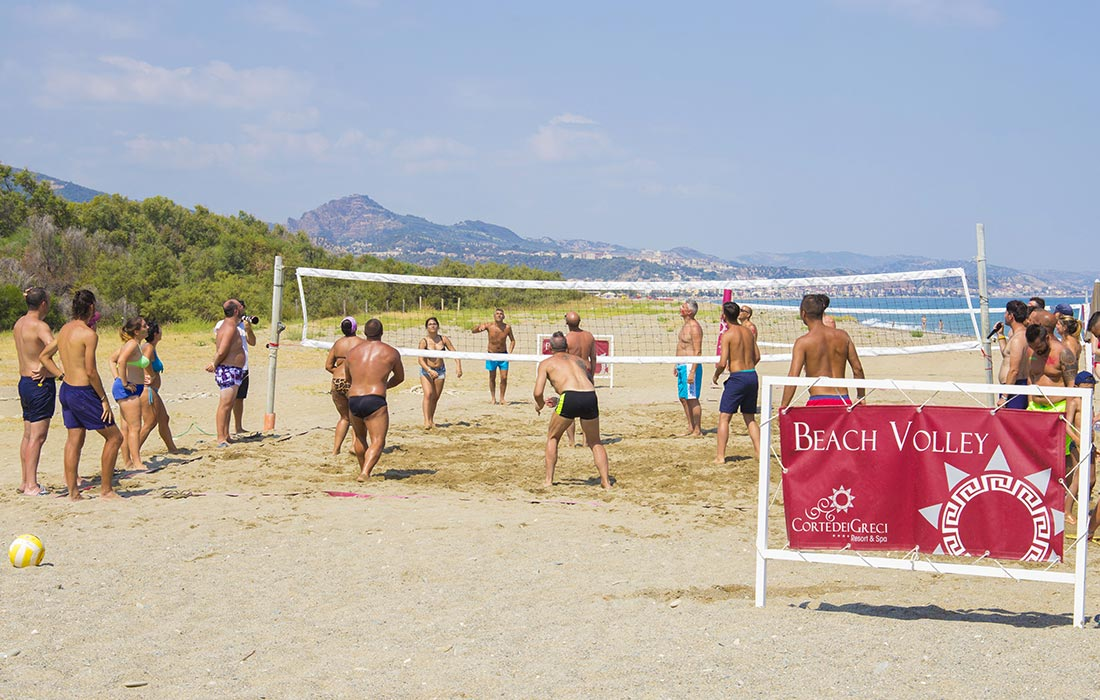 Villaggio turistico Calabria - Beach Volley
