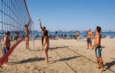 Villaggio con spiaggia in Calabria e beach-volley