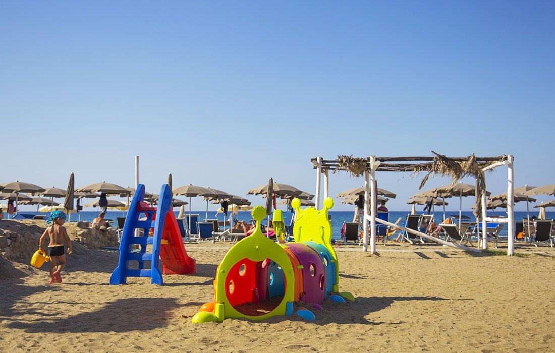 Villaggio con spiaggia privata